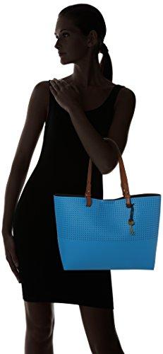 Totes Rachel cerulean Mujer nbsp; Damentasche Azul Bolsos Shopper Fossil ESFXqwM