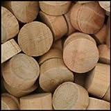 WIDGETCO 1/2'' Cherry Wood Plugs, End Grain(QTY 5,000)