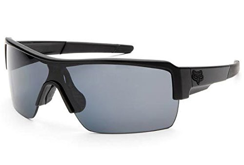 Fox Racing Mens The Duncan Sport Sunglasses, Polished Black/Black Irid, One - Sunglasses Fox