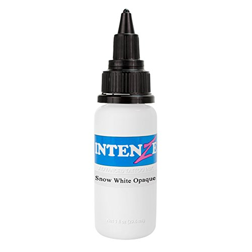 Intenze Tattoo Ink Snow White Opaque 1 oz
