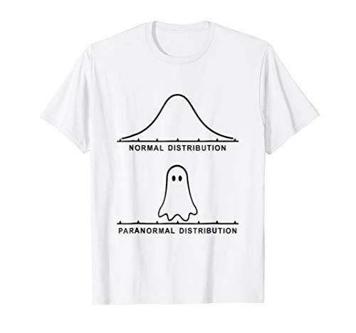 Funny Halloween T-Shirt Paranormal Activity Graph ()