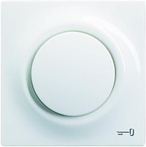 impuls bouton-poussoir Busch-Jaeger 1789TR-74 Enjoliveur symbole cl/é blanc alpin