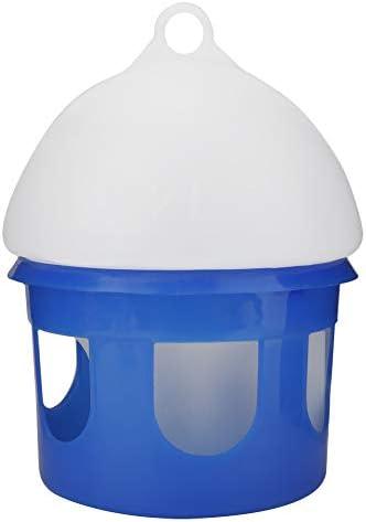 Ruiqas Taubenfutterautomat Automatischer Vogeltaubenfutterautomat Wasserspender mit Großer Kapazität (2L)