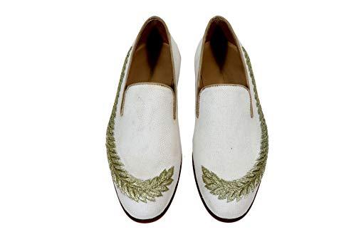 The Shoe Boutique Bergello Ivory Men's
