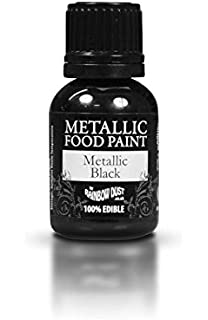 Amazon.com: Ready-to-use Metallic Dark Gold 100% Edible Food Paint ...