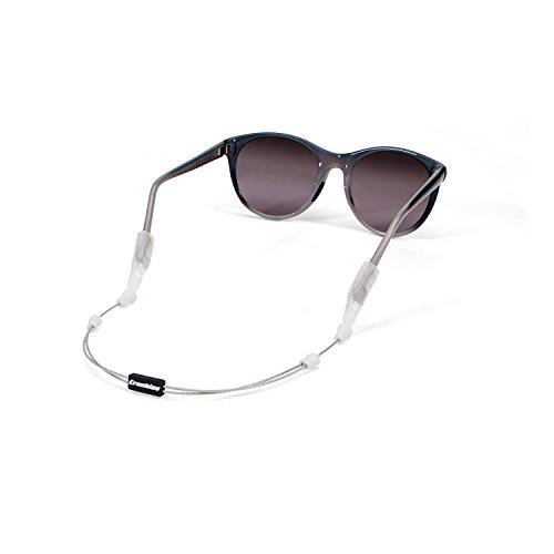 Retainer System - Croakies Arc Endless System Sport Eyewear Retainer, Silver, 16