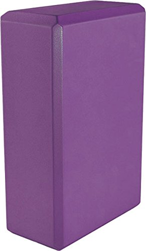 Yoga 3'' Foam Block (20-Pack), 3'' x 6'' x 9'', Purple by MatsMatsMats.com