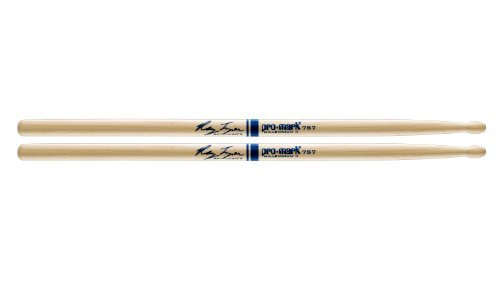 Promark Hickory 757 Wood Tip Ray Luzier drumstick