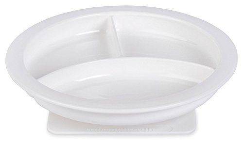 Kinsman Freedom Divided Plate w/Suction Pad - Base Slip