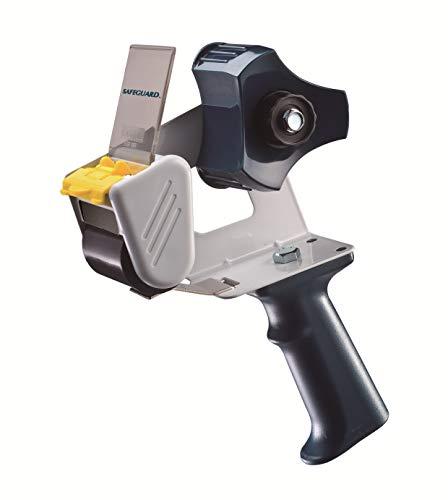 (WOD Metal Frame Handheld Carton Sealing Packaging Tape Gun Dispenser with Side Loading Design & Adjustable Brake - Industrial Gun for Shipping, Moving, Box Sealing: Fits Tape Up to 2 in. Wide)