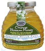 (Heather Hills Orange Blossom Honey Case of 4 X)