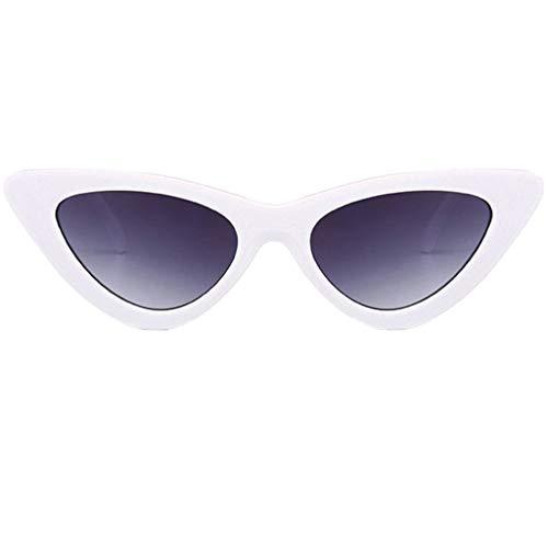 Tantisy ♣↭♣ Retro Vintage Cateye Sunglasses for Women Clout Goggles Plastic Frame Glasses