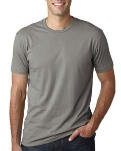 Next Level Mens Premium Fitted Short-Sleeve Crew T-Shirt - X-Large - Warm - Premium Outlet La