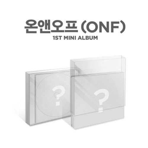 ONF-[On/Off] 1st Mini Debut Album CD+Photocard+Photobook+Stickers+JewelCase K-POP