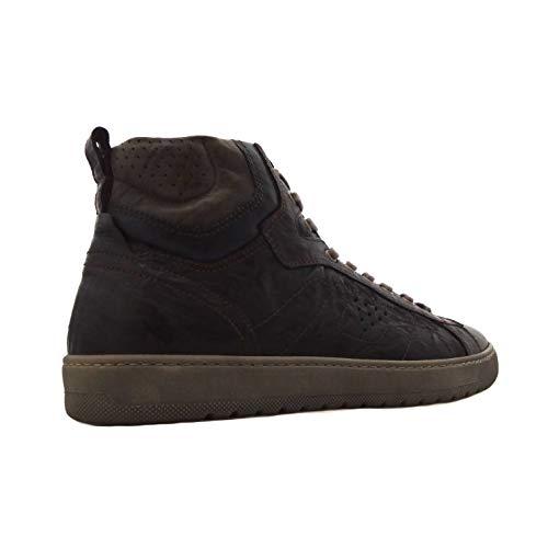 online store ac991 3b23a Alte In Testa Di Moro Pelle Uomo Nero Giardini A800490u 300 Sneakers wFqEnZa