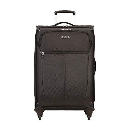 Skyway Luggage Mirage Superlight 24-Inch 4 Wheel Expandable Upright, Black, One Size -