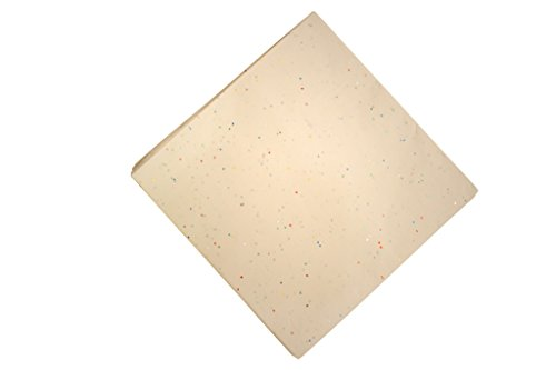 (White Glitter tissue Paper, 100 Sheets)
