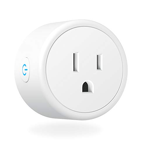 WiFi Smart Plug – Smart Outlets Work With Alexa, Google Home IFTTT, Aoycocr Remote Control Plugs with Timer Function,ETL FCC Rohs Listed Socket, White 1 Pack