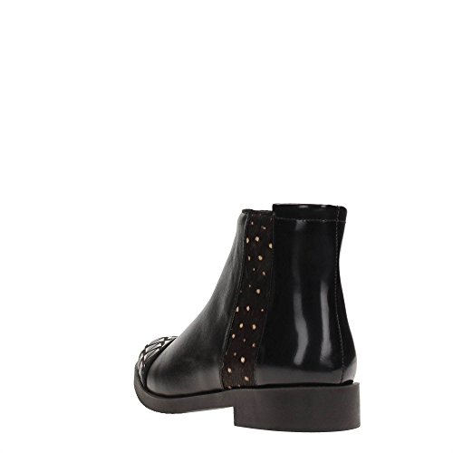 Cafè Noir NEC116 LEATHER BOOTS WITH APPLICATIONS I16.226 Multinero WulN8