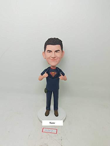 Male Nurse Personalized Gift Male Nurse Custom Bobble Head Figurines Male Nurse Birthday Cake Topper Boyfriend Gift Husband Gift Son Gift