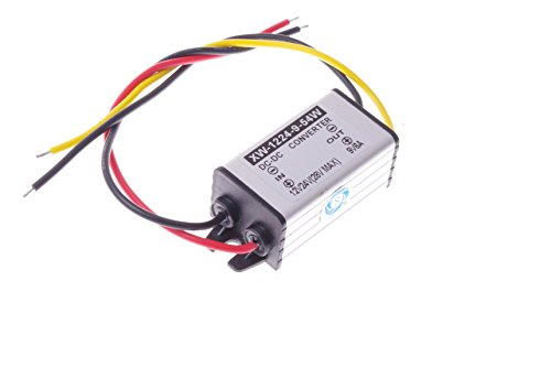 SMAKN® DC-DC 12V to 9V 6A 54W Buck Power Converter / Step Down Power Supply Waterproof