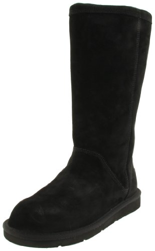 Ugg Australia Greenfield Womens Size 6 Black Boots Winter Suede Snow Boots EU 37