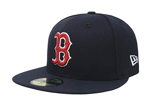 New Era 59FIFTY Boston Red Sox MLB 2017 Authentic Collection On Field Game Fitted Cap Size 7 1/8