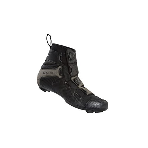 LAKE SHOE CX145 WIDE ROAD W/PROOF BOOT BLK