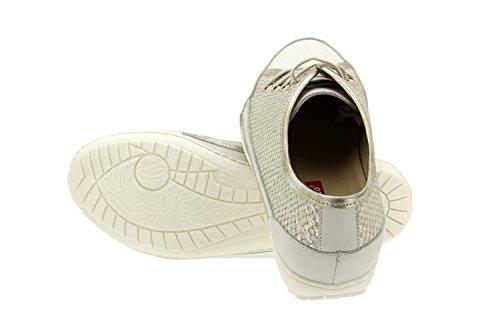 Komfort Damenlederschuh Piesanto 4751 Sportschuh herausnehmbaren einlegesohlen bequem breit Hielo
