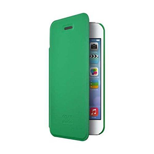 BigBen COLORBLOCK - aufklappbares Case für Apple iPhone 4/4S, minze - CB273509