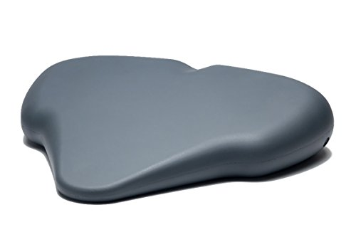 SITTS Posture Wedge Seat Cushion 3.5 Inch tilt- Medium Firm Integral Skin is Water Resistant- Helps Correct Damaging Posture- Back Pain Relief in Chairs or Car Seat (Cab Ground Effects)
