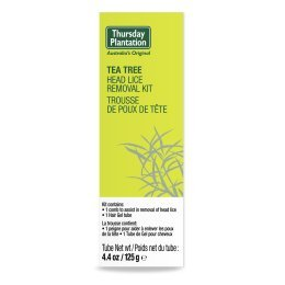 Thursday Plantation | Tea Tree Head Lice Kit | 1 x 125g Thursday Plantation Teatree
