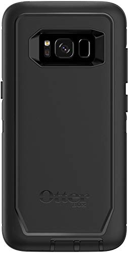 OtterBox Defender Series Case for Samsung Galaxy S8 (NOT Plus) Case Only, No Holster - Non-Retail Packaging - Black