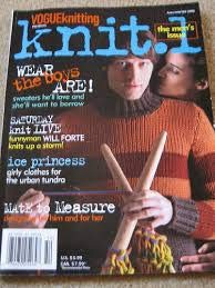 (Knit.1 The Men's Issue Vogue Knitting Fall Winter 2005 )