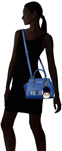 Blu Borsa Moschino Bleu Sacs Love Pu menotte xS0a6wqw