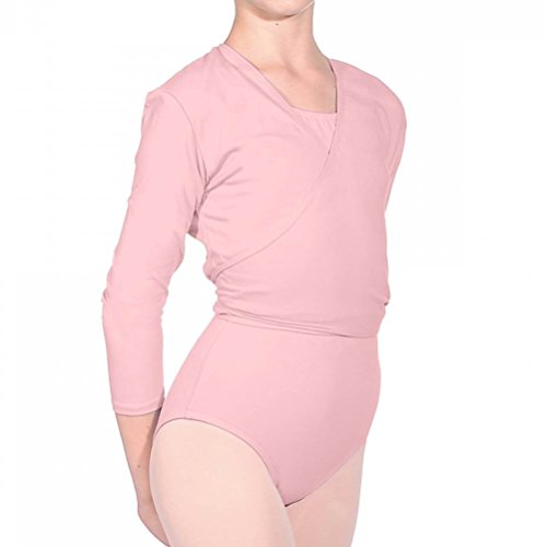 Nikki cardigan Ballet Pink Lycra Roch Valley V cotone R Dance wq4RS1R