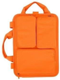 13.5 in. 13.25 x 9.75 x 2.25 Cadmium Orange Laptop Moleskine Bag Organizer