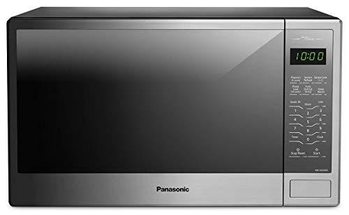 Panasonic NN-SG656S 1.3 Cu. Ft. 1100 Watt Countertop Genius Microwave Stainless (Renewed)