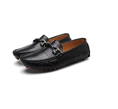 Toile Pois Black Bleu Hommes Occasionnels Cuir D'affaires Jaune Sports Chaussures Noir Chaussures Chaussures Automne en Dentelle Printemps r6wrqF