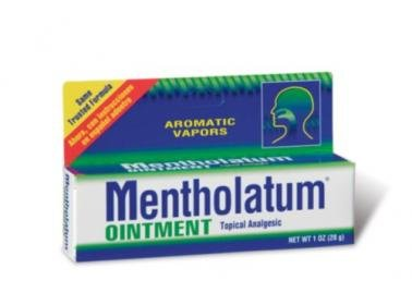 Tube de pommade Mentholatum, pour