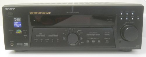 [SONY STR-K502P Digital Surround Sound AM FM Stereo Receiver 5.1 Channel Speaker Outputs 64 Bit DSP Digital Cinema Sound 8 Ohms 100 Watts Per Channel] (Sony Digital Tv Receiver)