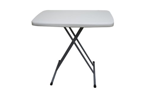 Allied Plastic Table - Coleman C11TM388 Blow Molded Plastic Personal Tray Table, 30 by 20-Inch