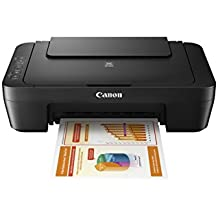 Canon PIXMA MG2525 Photo All-in-One Inkjet Printer w Scanner and Copier - Black