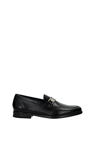 Herren UK Slipper Salvatore LION0630182 Schwarz Ferragamo WTFwqnx48p