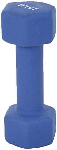 JINSHANSHAN 【US Stock】 Dumbbell Set,A Pair Barbell Neoprene Coated Weights 6/8/10/12/15 Pound Rubber Encased Hex Dumbbells