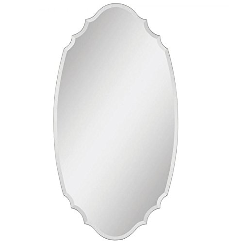 Ren-Wil MT951 Wall Mount Mirror by Jonathan Wilner and Paul De Bellefeuille, 55 by 29-Inch