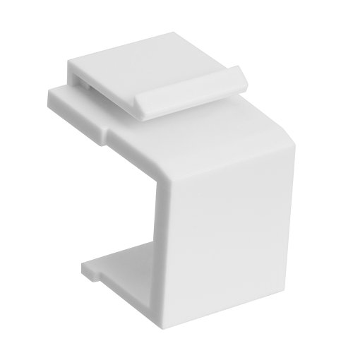 Cmple - Blank Insert For Wall Plate - 10pcs/Pack (White Blank Wall Plate Inserts)