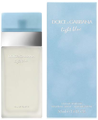 Dolce Gabbana Light Blue for Women Eau De Toilette EDT 50ml 1.6 1.7 oz Spray