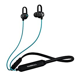 Tarbull MusicMate 410, World's 1st Bluetooth Earphone with 501 Preloaded Songs-Powered by Sony Music, Upto 35H Playtime…