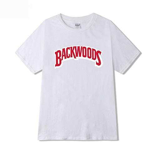 romantico Hoodies Streetwear Backwoods Hoodie Sweatshirt Men Hip Hop Hoodie Pullover,White t-Shirt,S